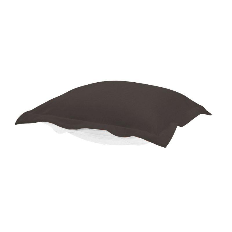 Howard Elliott QC310-460 Seascape 24 X 24 Puff Ottoman Cover Charcoal