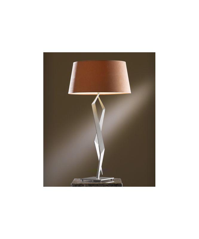 Hubbardton Forge 272850 Facet 1 Light Table Lamp Burnished Steel Lamps Sale $594.00 ITEM#: 2007188 MODEL# :272850-08 :