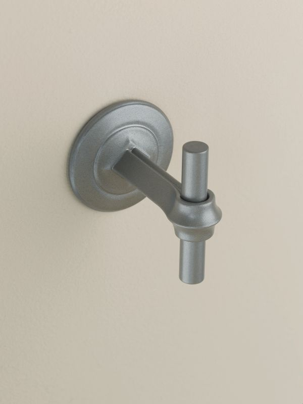 "Hubbardton Forge 844001 2.9"" Single Robe Hook from the Rook Collection"