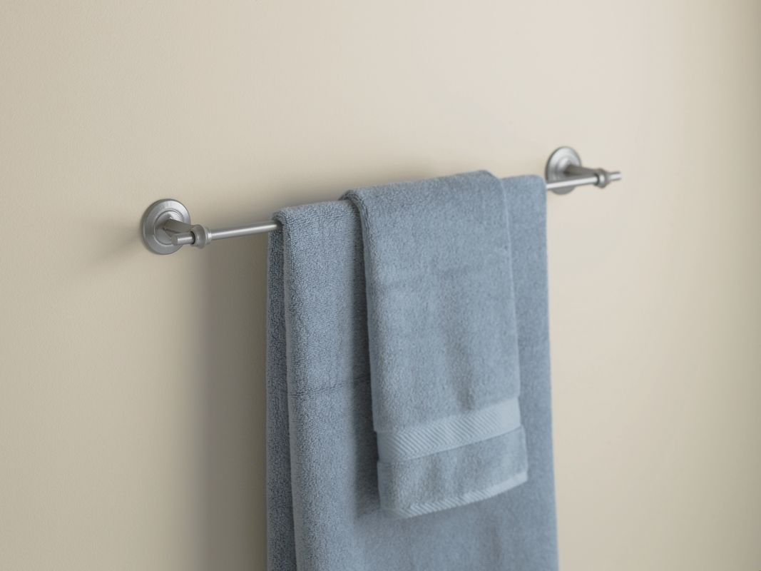 "Hubbardton Forge 844012 26.5"" Towel Bar from the Rook Collection"