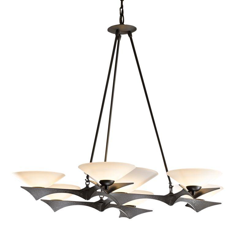 "Hubbardton Forge 104325 Moreau 7 Light 40"" Wide Chandelier with Sale $2420.00 ITEM#: 2891703 MODEL# :104325-07 :"