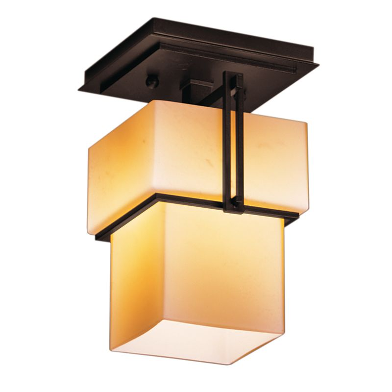 Hubbardton Forge 123755 1 Light Semi-Flush Ceiling Fixture from the Sale $484.00 ITEM#: 1333998 MODEL# :123755-03 :