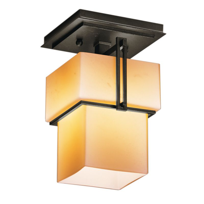 Hubbardton Forge 123755 1 Light Semi-Flush Ceiling Fixture from the Sale $484.00 ITEM#: 1334000 MODEL# :123755-07 :