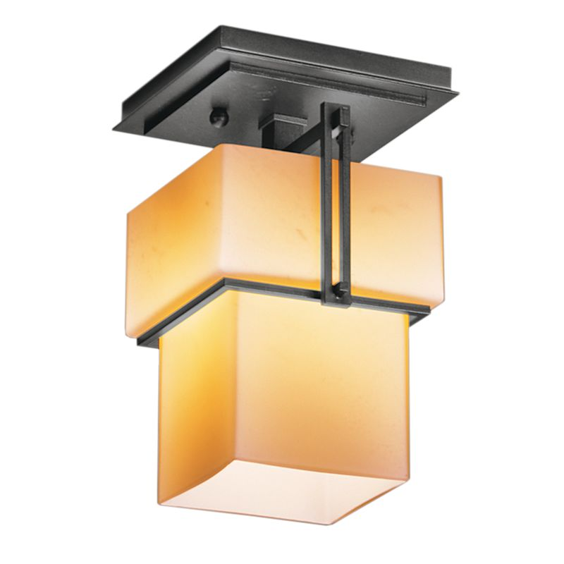 Hubbardton Forge 123755 1 Light Semi-Flush Ceiling Fixture from the Sale $484.00 ITEM#: 1334001 MODEL# :123755-08 :