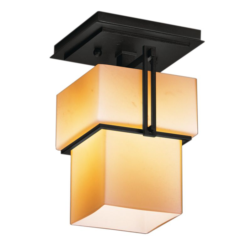 Hubbardton Forge 123755 1 Light Semi-Flush Ceiling Fixture from the Sale $484.00 ITEM#: 1334002 MODEL# :123755-10 :