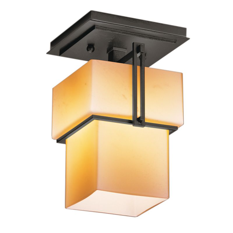 Hubbardton Forge 123755 1 Light Semi-Flush Ceiling Fixture from the Sale $484.00 ITEM#: 1334004 MODEL# :123755-20 :