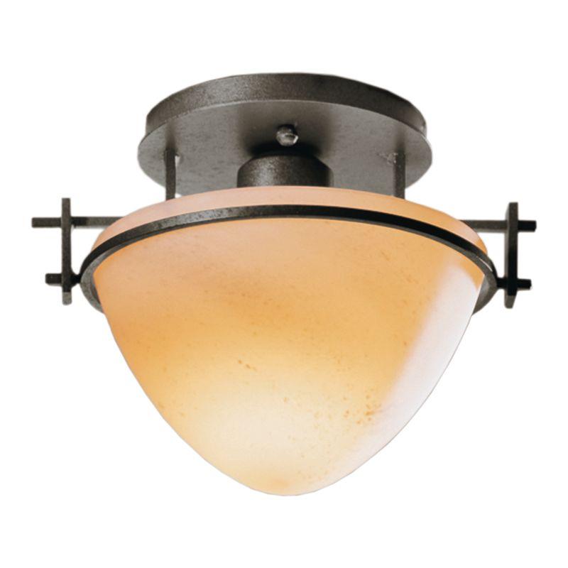 Hubbardton Forge 124247 1 Light Bowl Light Semi-Flush Ceiling Fixture