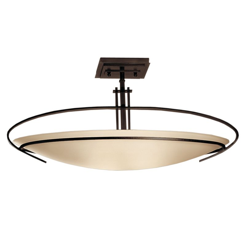 Hubbardton Forge 124341 2 Light Bowl Light Semi-Flush Ceiling Fixture Sale $814.00 ITEM#: 1333643 MODEL# :124341-03-G89 :