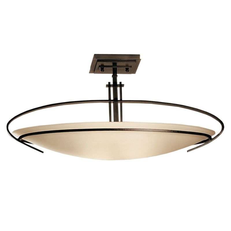 Hubbardton Forge 124341 2 Light Bowl Light Semi-Flush Ceiling Fixture Sale $814.00 ITEM#: 1333644 MODEL# :124341-05-G89 :