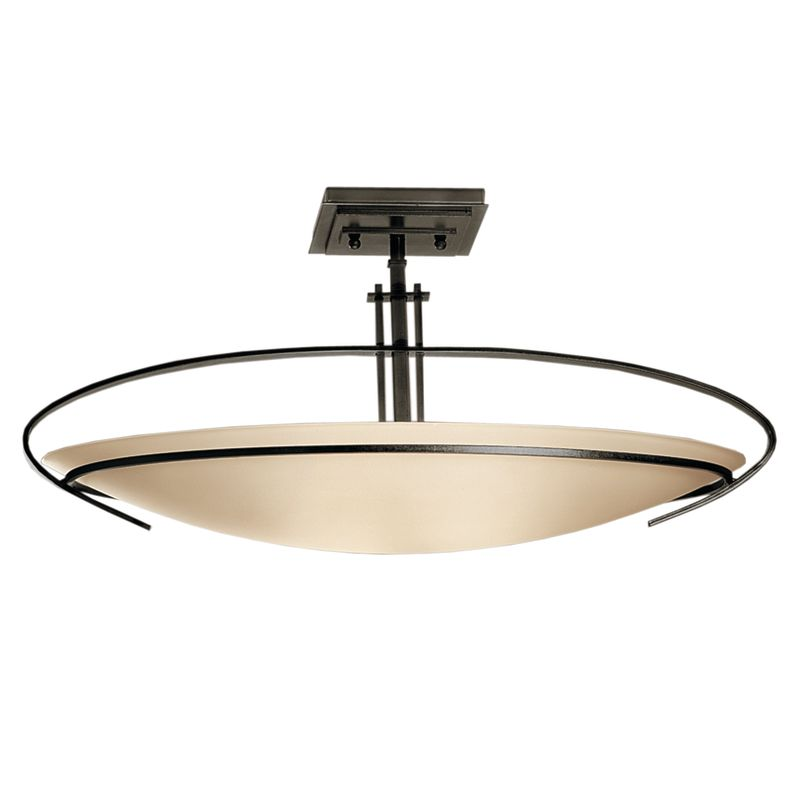 Hubbardton Forge 124341 2 Light Bowl Light Semi-Flush Ceiling Fixture Sale $814.00 ITEM#: 1333610 MODEL# :124341-07-G89 :