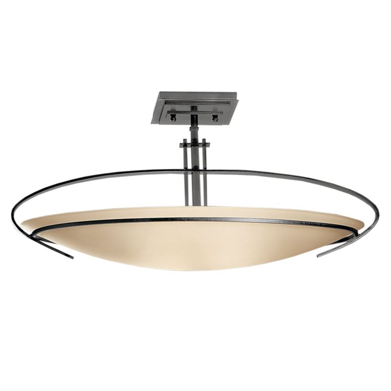 Hubbardton Forge 124341 2 Light Bowl Light Semi-Flush Ceiling Fixture Sale $814.00 ITEM#: 1333645 MODEL# :124341-08-G89 :