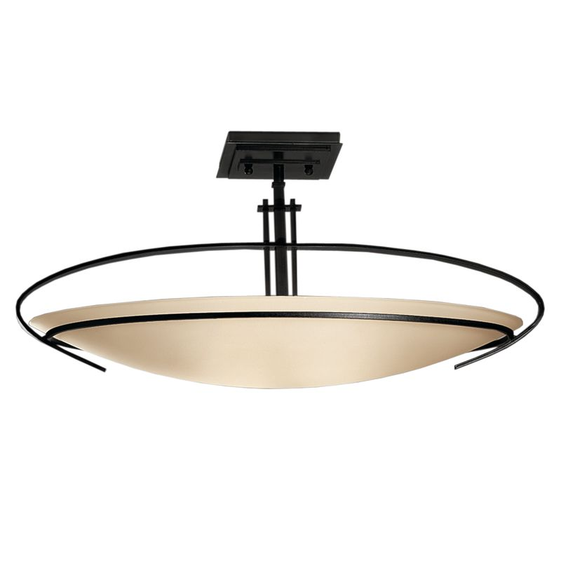 Hubbardton Forge 124341 2 Light Bowl Light Semi-Flush Ceiling Fixture Sale $814.00 ITEM#: 1333646 MODEL# :124341-10-G89 :