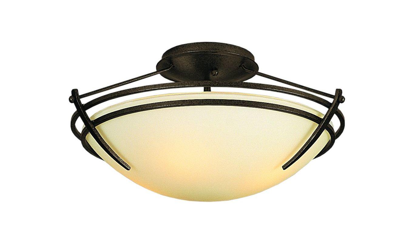 Hubbardton Forge 124412 2 Light Down Lighting Semi Flush Ceiling Sale $459.80 ITEM#: 1163827 MODEL# :124412-05 :