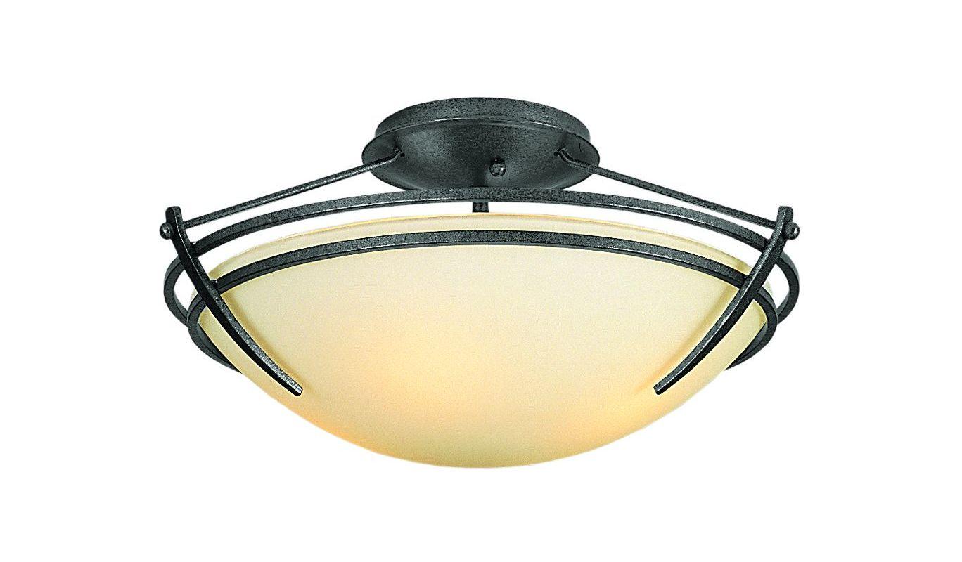 Hubbardton Forge 124412 2 Light Down Lighting Semi Flush Ceiling Sale $459.80 ITEM#: 1163828 MODEL# :124412-08 :