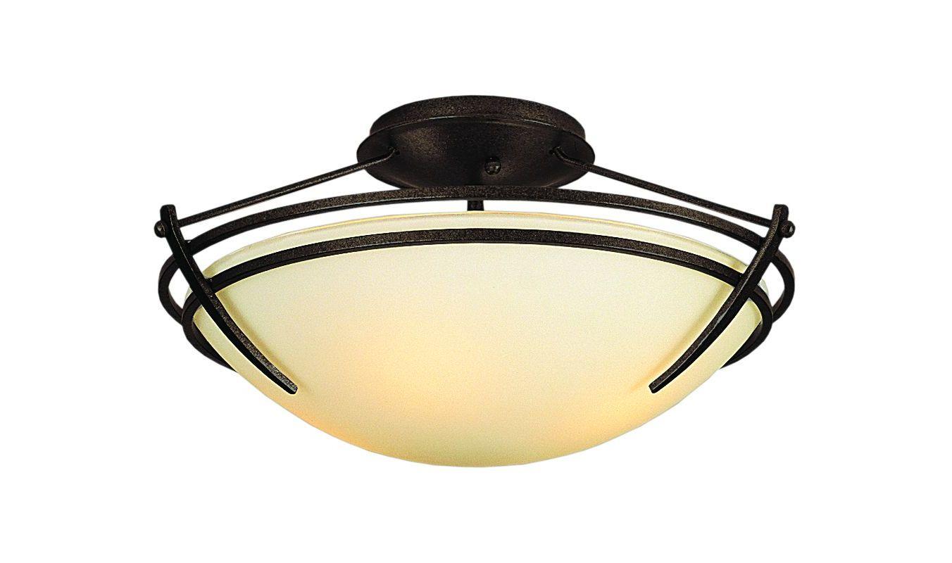 Hubbardton Forge 124412 2 Light Down Lighting Semi Flush Ceiling Sale $459.80 ITEM#: 1163830 MODEL# :124412-03 :