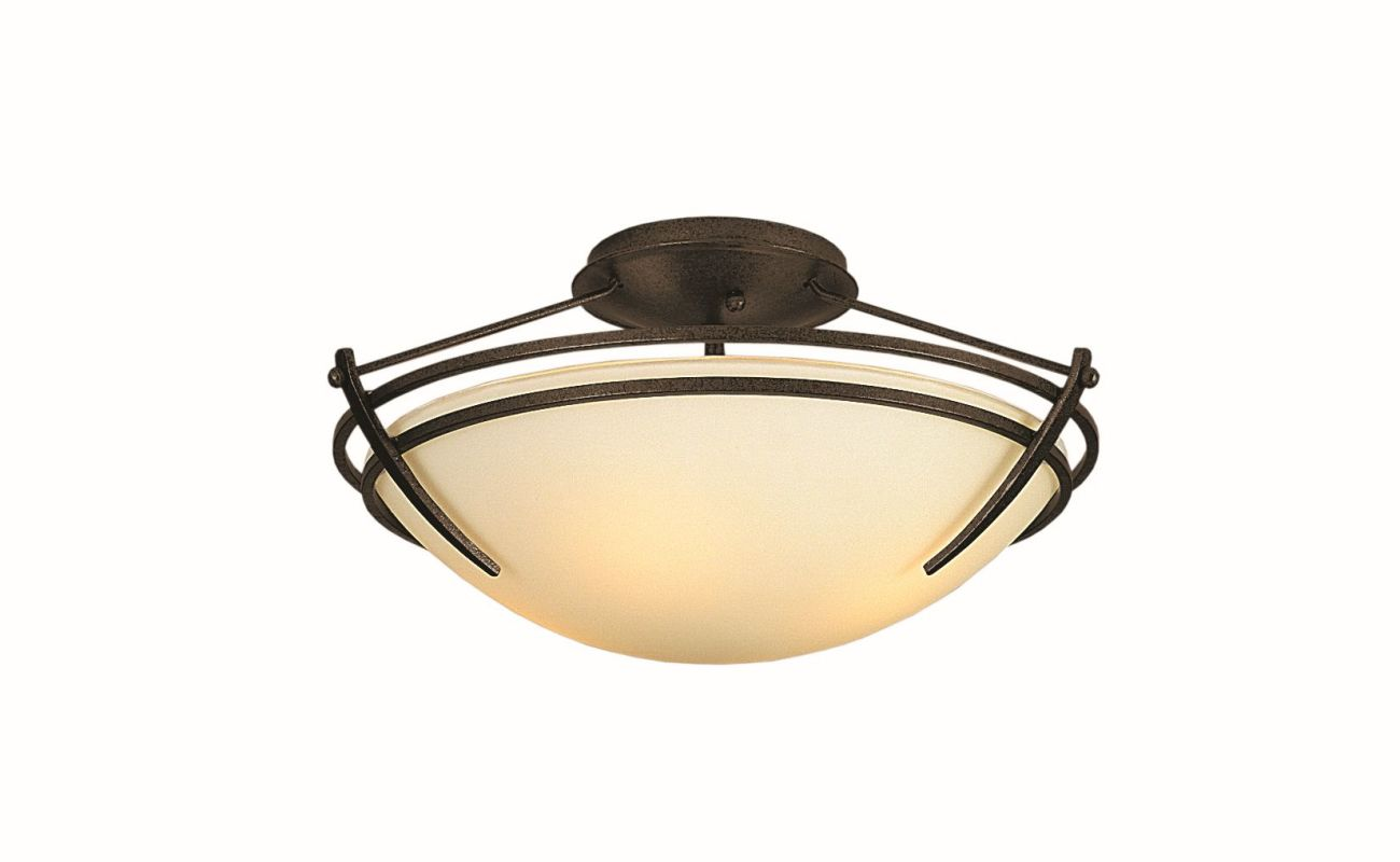"Hubbardton Forge 124412F Presidio Tryne 2 Light 16.4"" Wide Semi-Flush Sale $558.80 ITEM#: 2890320 MODEL# :124412F-05 :"