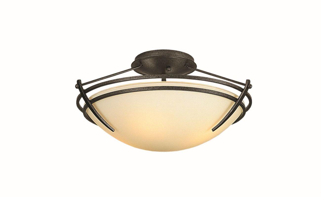 "Hubbardton Forge 124412F Presidio Tryne 2 Light 16.4"" Wide Semi-Flush Sale $558.80 ITEM#: 2890322 MODEL# :124412F-07 :"