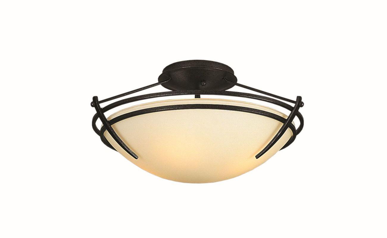 "Hubbardton Forge 124412F Presidio Tryne 2 Light 16.4"" Wide Semi-Flush Sale $558.80 ITEM#: 2890319 MODEL# :124412F-10 :"