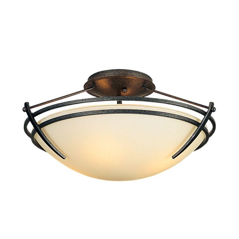 "Hubbardton Forge 124412F Presidio Tryne 2 Light 16.4"" Wide Semi-Flush Sale $558.80 ITEM#: 2890324 MODEL# :124412F-20 :"