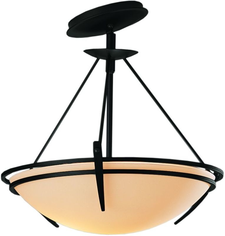 Hubbardton Forge 124424 2 Light Semi-Flush Ceiling Fixture with Bowl Sale $547.80 ITEM#: 1669812 MODEL# :124424-10 :