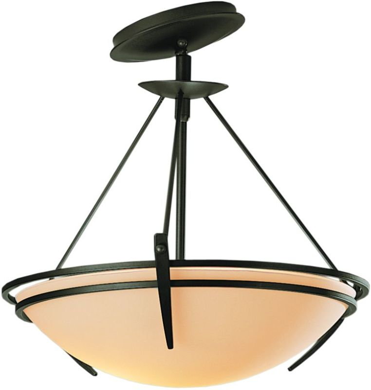 Hubbardton Forge 124424 2 Light Semi-Flush Ceiling Fixture with Bowl Sale $547.80 ITEM#: 1669810 MODEL# :124424-07 :