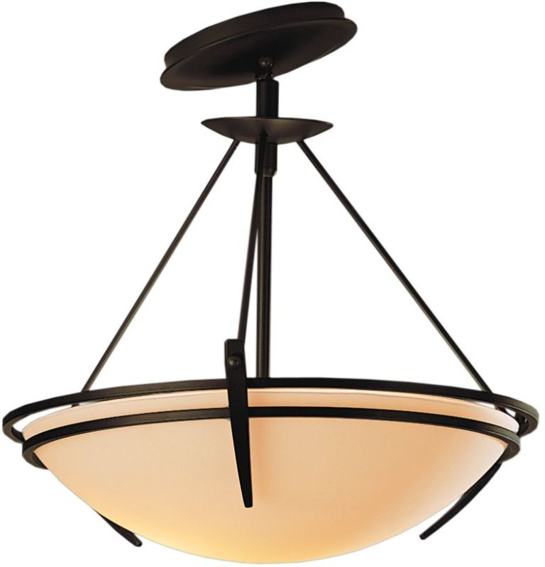 Hubbardton Forge 124424 2 Light Semi-Flush Ceiling Fixture with Bowl Sale $547.80 ITEM#: 1669808 MODEL# :124424-03 :