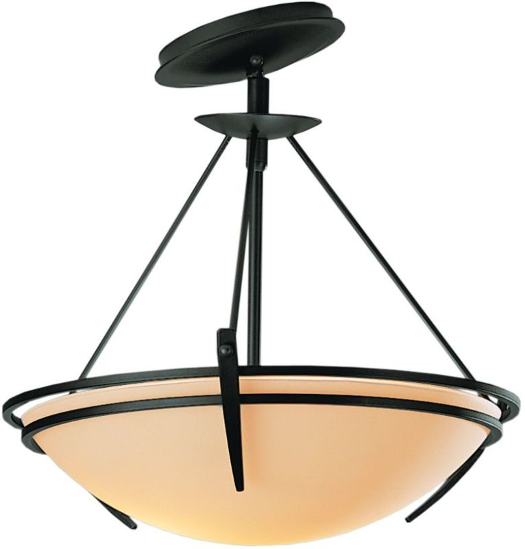 Hubbardton Forge 124424 2 Light Semi-Flush Ceiling Fixture with Bowl Sale $547.80 ITEM#: 1669814 MODEL# :124424-20 :