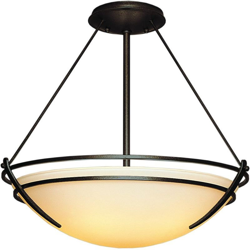 Hubbardton Forge 124432 3 Light Large Semi Flush Ceiling Fixture from Sale $609.40 ITEM#: 1163841 MODEL# :124432-03 :