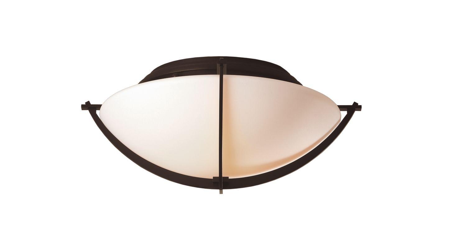 Hubbardton Forge 124550 2 Light Bowl Light Semi-Flush Ceiling Fixture Sale $554.40 ITEM#: 1334084 MODEL# :124550-03 :