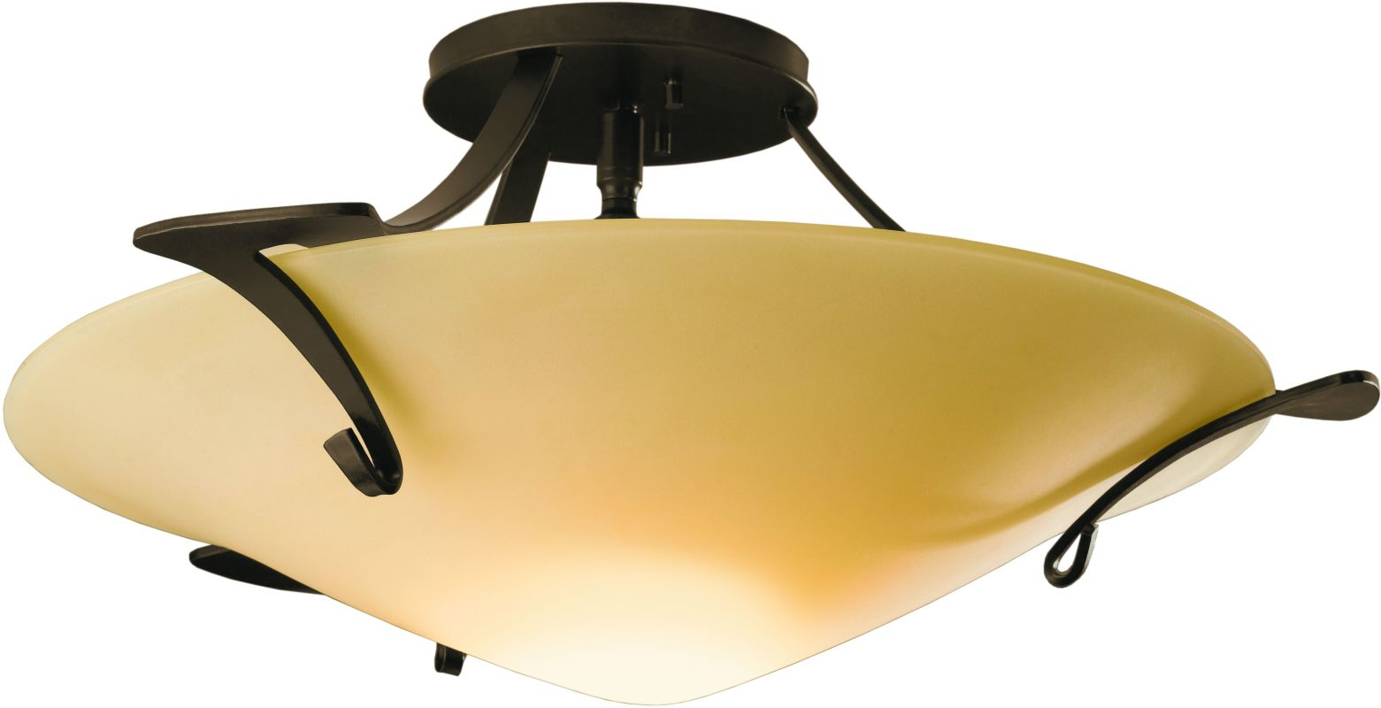 Hubbardton Forge 124710 1 Light Bowl Light Semi-Flush Ceiling Fixture Sale $783.20 ITEM#: 1333347 MODEL# :124710-05 :