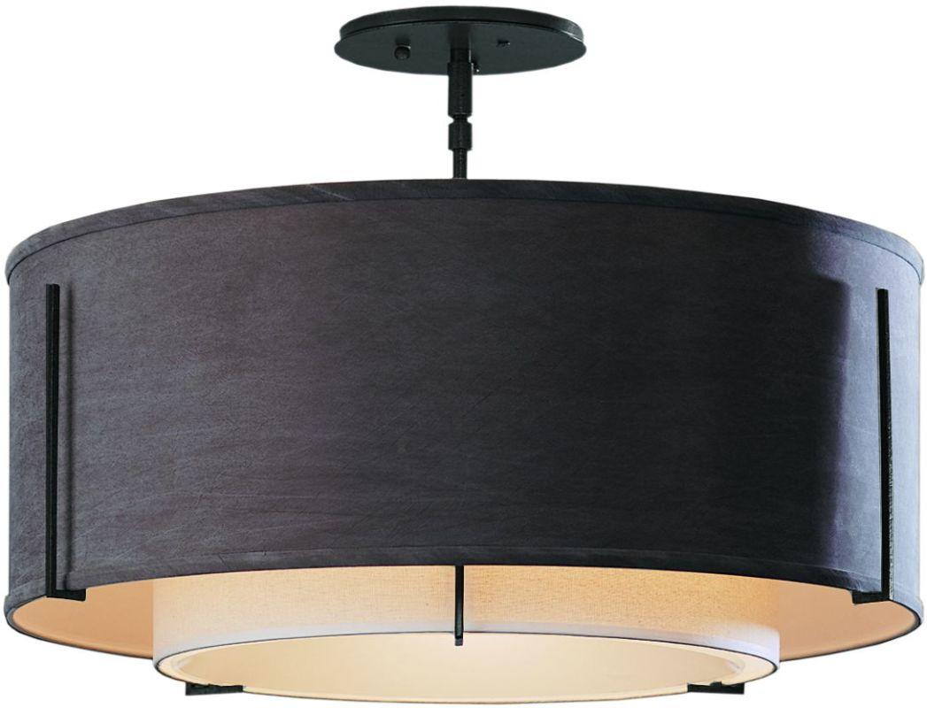 Hubbardton Forge 126503 1 Light Semi-Flush Medium Ceiling Fixture from