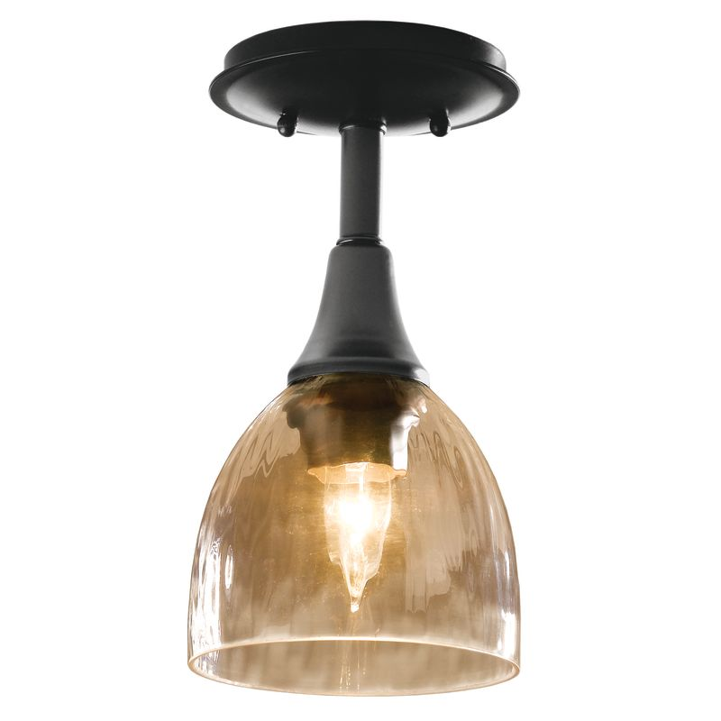 Hubbardton Forge 126703 1 Light Small Semi-Flush Ceiling Fixture Sale $206.80 ITEM#: 1333896 MODEL# :126703-08 :