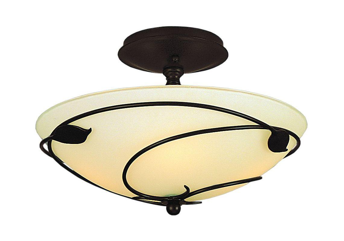Hubbardton Forge 126712 2 Light Down Light Semi-Flush Ceiling Fixture Sale $536.80 ITEM#: 1249757 MODEL# :126712-03 :