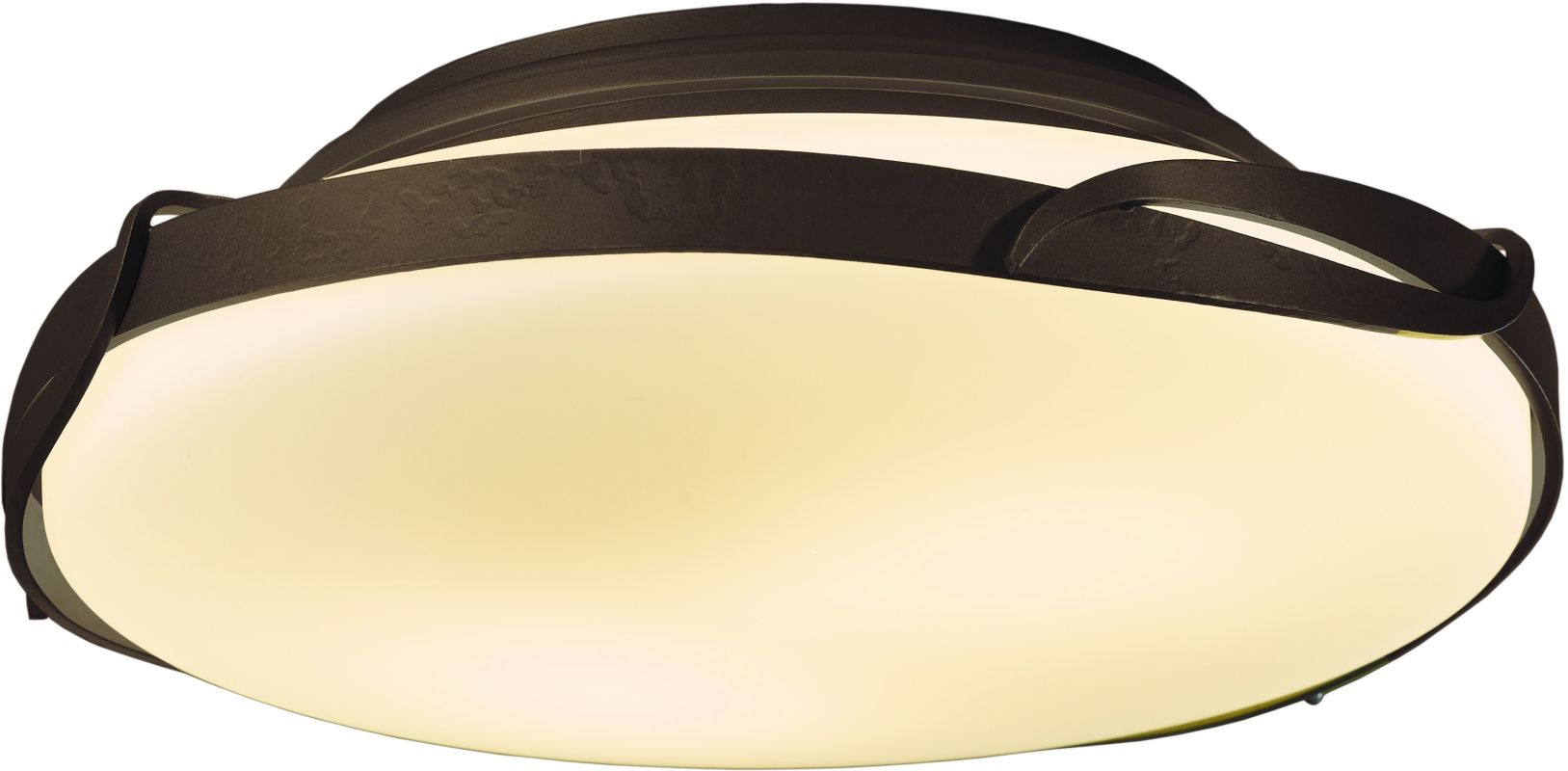Hubbardton Forge 126740 2 Light Semi-Flush Ceiling Light from the Sale $431.20 ITEM#: 2007249 MODEL# :126740-03 :