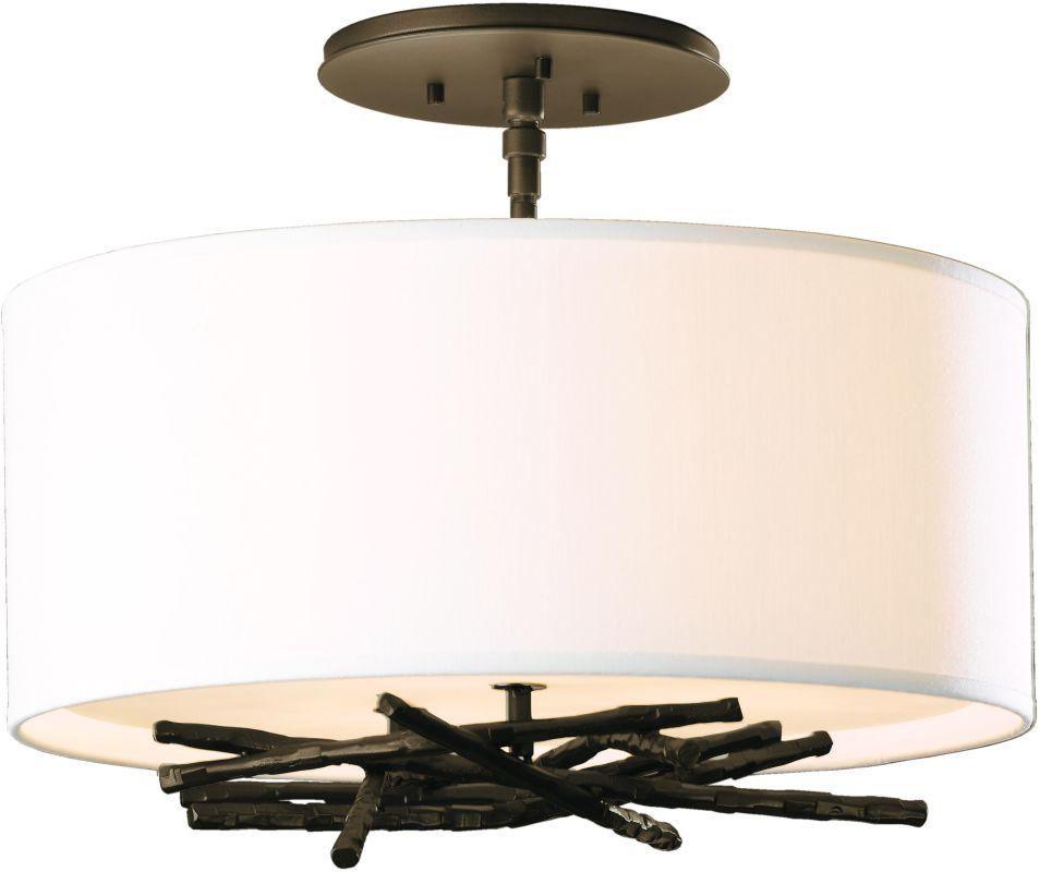 Hubbardton Forge 127660 3 Light Semi-Flush Ceiling Light from the Sale $858.00 ITEM#: 2007135 MODEL# :127660-05 :