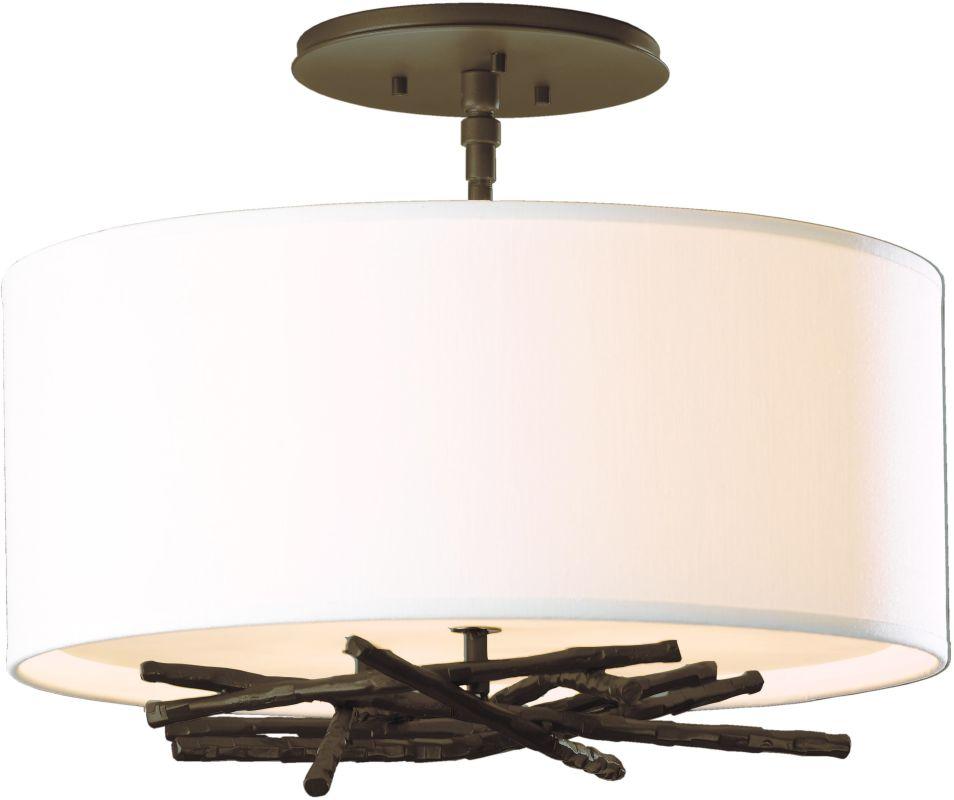 Hubbardton Forge 127660 3 Light Semi-Flush Ceiling Light from the