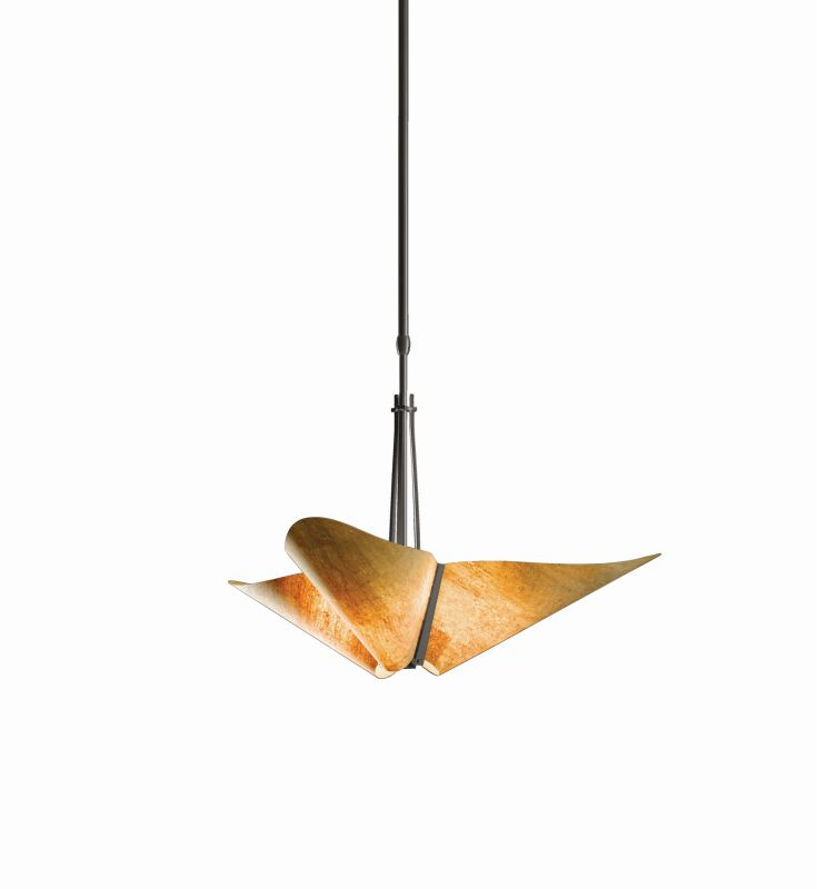 "Hubbardton Forge 133303 Kirigami 3 Light 29"" Wide Adjustable Pendant"