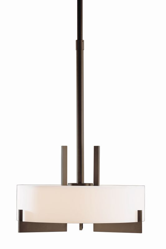 "Hubbardton Forge 136403F Axis 3 Light 19"" Wide CFL Pendant with Opal Sale $1755.60 ITEM#: 1758537 MODEL# :136403F-03 :"
