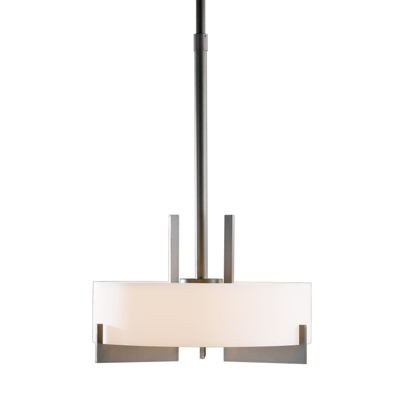 """Hubbardton Forge 136403F Axis 3 Light 19"""" Wide CFL Pendant with Opal Sale $1755.60 ITEM#: 1758539 MODEL# :136403F-07 :"""
