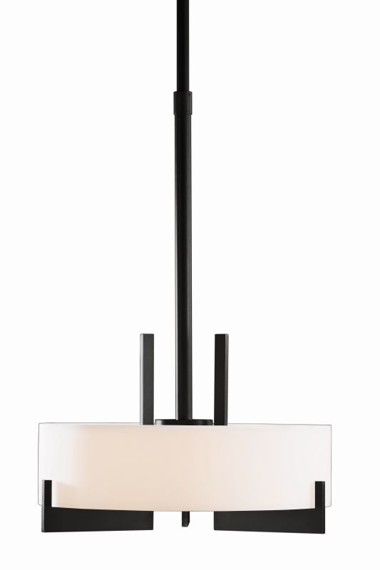 "Hubbardton Forge 136403F Axis 3 Light 19"" Wide CFL Pendant with Opal Sale $1755.60 ITEM#: 1758541 MODEL# :136403F-10 :"