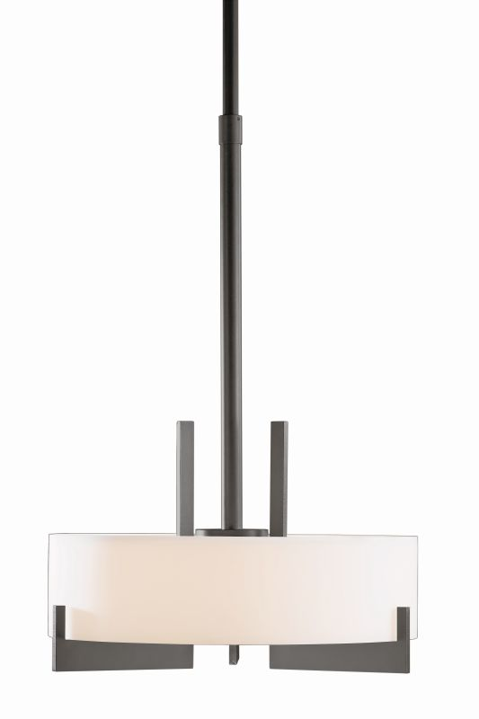 """Hubbardton Forge 136403F Axis 3 Light 19"""" Wide CFL Pendant with Opal Sale $1755.60 ITEM#: 1758542 MODEL# :136403F-20 :"""