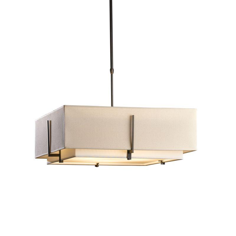 "Hubbardton Forge 139635 Exos 4 Light 25"" Wide Adjustable Pendant with Sale $1067.00 ITEM#: 2735232 MODEL# :139635-07 :"