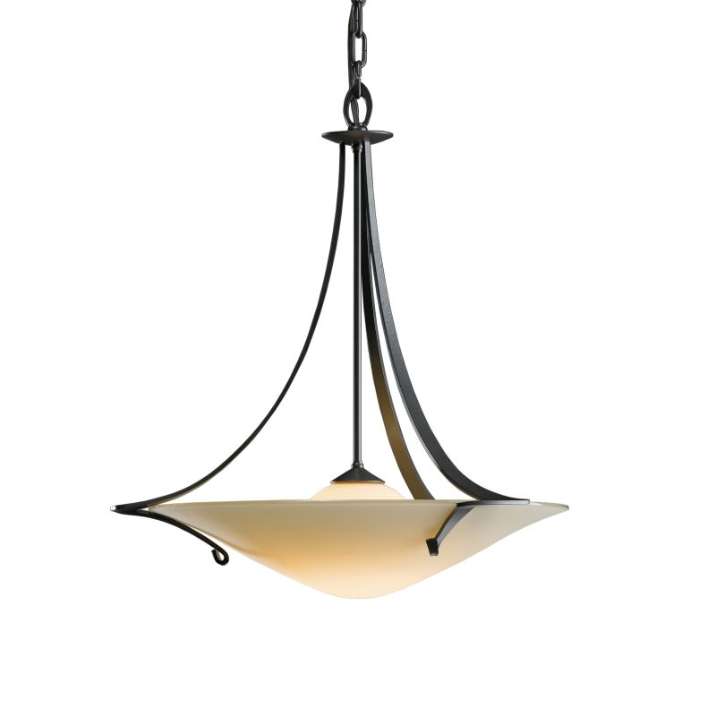 """Hubbardton Forge 144710 Antasia 1 Light 22"""" Wide Pendant with Opal"""