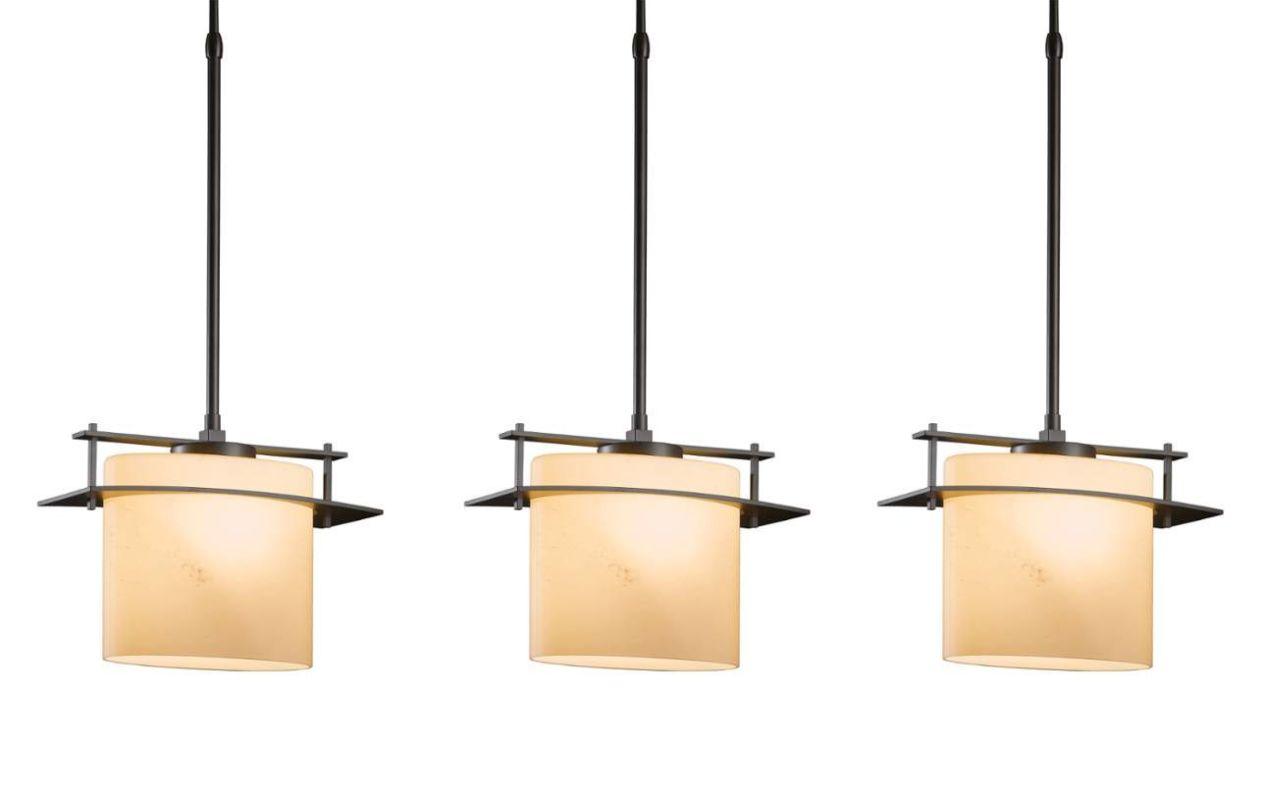 "Hubbardton Forge 18825F-81X Arc Ellipse 3 Light 5"" Wide Linear Pendant Sale $2120.80 ITEM#: 2926194 MODEL# :18825F-81X-07 :"