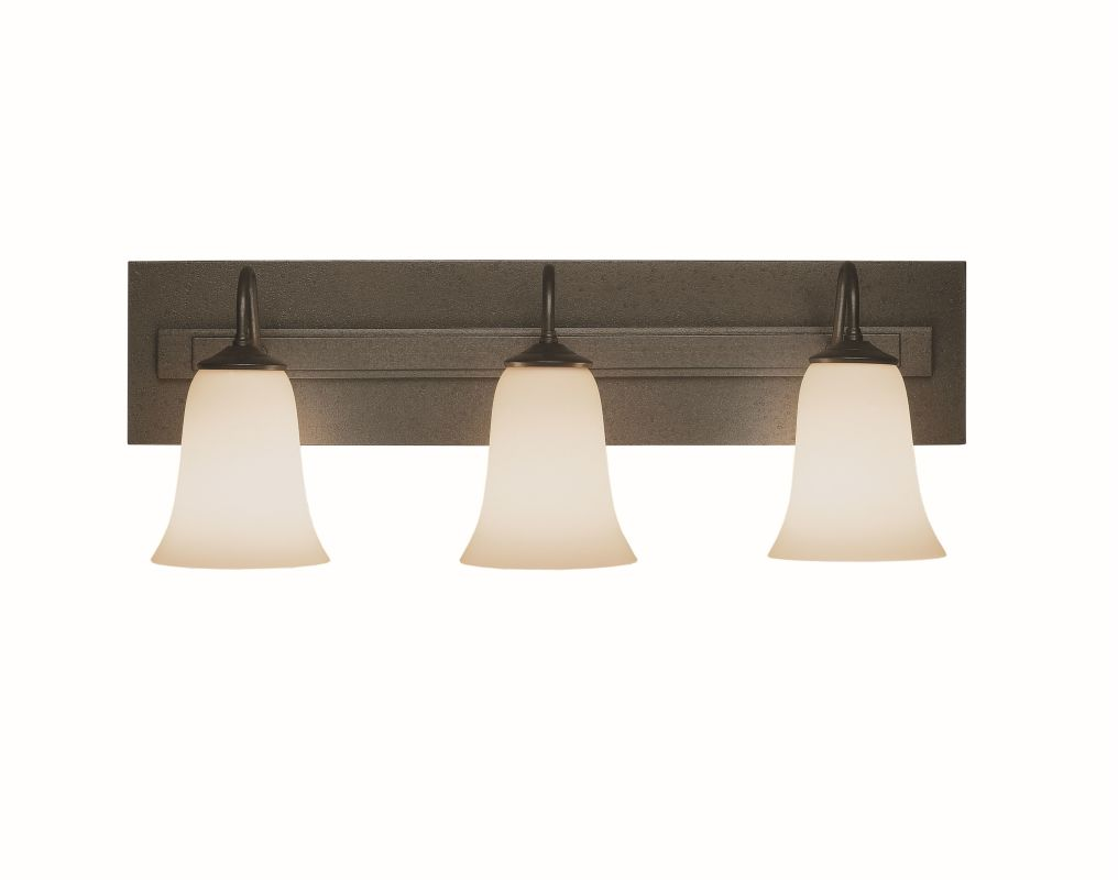 """Hubbardton Forge 203223 Traditional 3 Light 25"""" Wide Wall Sconce Dark Sale $695.20 ITEM#: 1670125 MODEL# :203223-07 :"""