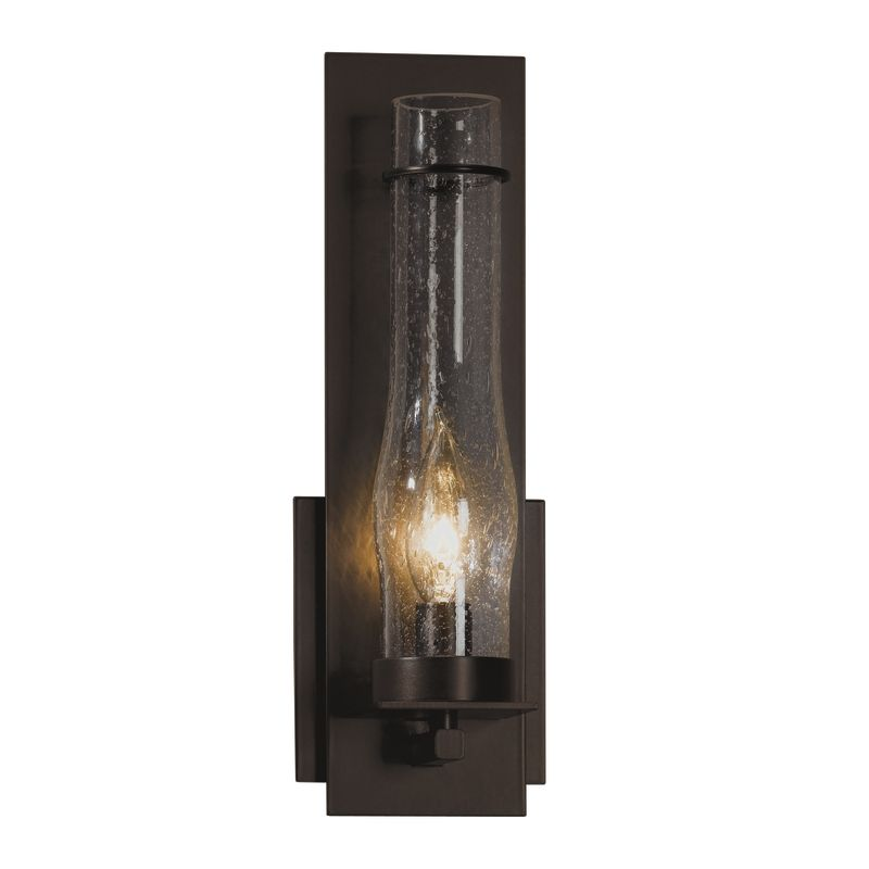 Hubbardton Forge 204250 1 Light Wall Sconce from the New Town Sale $429.00 ITEM#: 1163992 MODEL# :204250-03-CTO :