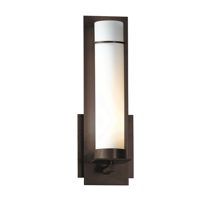 """Hubbardton Forge 204260 1 Light Wall Sconce from the New Town Sale $424.60 ITEM#: 1164003 MODEL# :204260-03 Product Features: Finish: Natural Iron , Light Direction: Up Lighting , Width: 4.25"""" , Height: 12.6"""" , Genre: Rustic / Lodge , Bulb Type: Compact Fluorescent, Incandescent , Number of Bulbs: 1 , Fully covered under Hubbardton Forge warranty , Location Rating: Indoor Use :"""
