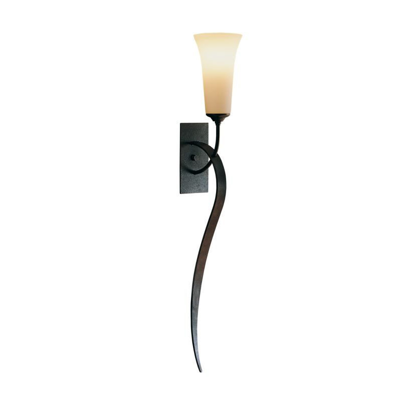 """Hubbardton Forge 204526 Single Light 29"""" High Wall Sconce with"""