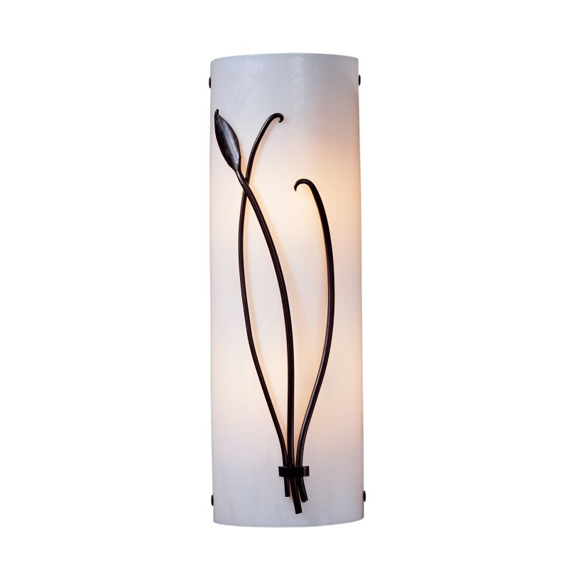 """Hubbardton Forge 205770L 2 Light 17"""" High Wall Sconce with Leaf and"""
