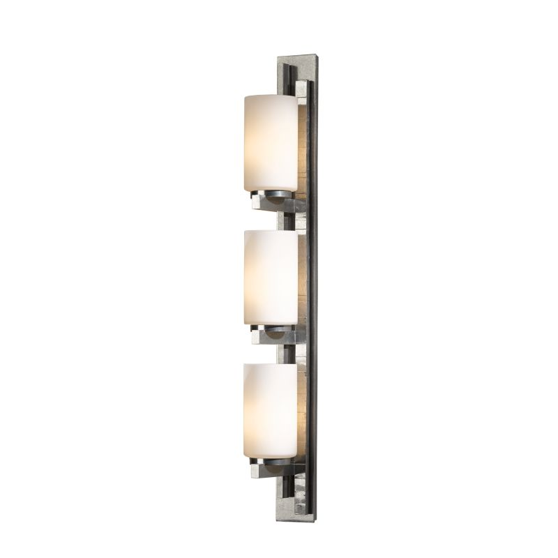 """Hubbardton Forge 206315L Ondrian 3 Light 27"""" High Wall Sconce with Sale $976.80 ITEM#: 2405040 MODEL# :206315L-82 :"""